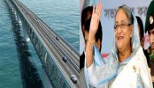 PM inaugurates Padma bridge construction work