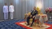 Thailand's King Bhumibol Adulyadej makes rare appearance