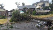 Tornado rips roofs off homes as record winds lash Sydney