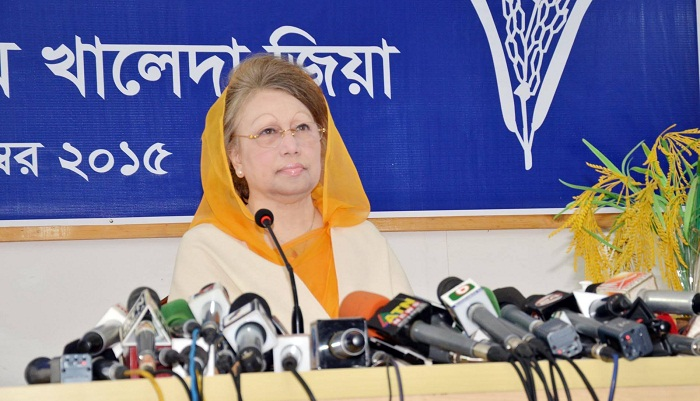 BNP to remain in field till last minute: Khaleda