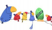 Happy new year, says Google doodle