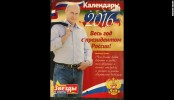 Putin 2016 calendar is selling out