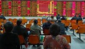 Chinese shares jump higher in volatile trade