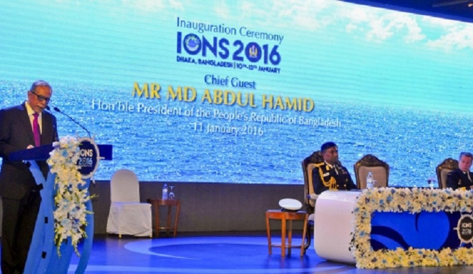 President stresses better maritime policy for Indian Ocean region