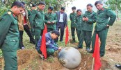 Vietnam army probes mysterious 'space balls'