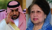 Saudi Prince meets Khaleda