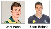 Australia new boys to face India