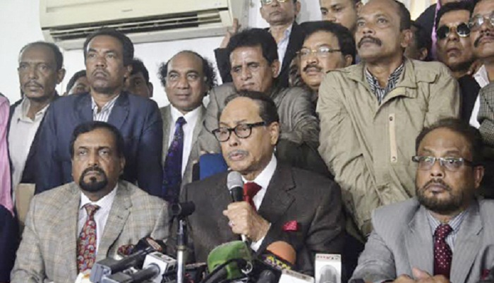 I will stick to my decision until death: Ershad