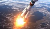 Indian rocket with navigation satellite blasts off