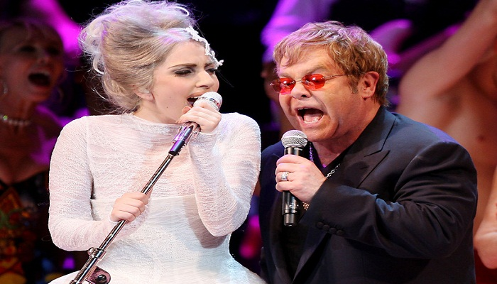 Elton John collaborates with Lady Gaga