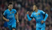 Neymar  gives Barca slender win