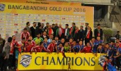 Nepal clinches Bangabandhu Gold Cup title beating Bahrain 3-0