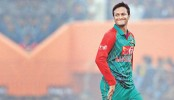 Shakib on brink of becoming first BD bowler to take 50 wickets in T20Is