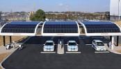 Solar Battery Charging Station