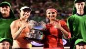 Sania-Martina win Australian Open women's doubles crown