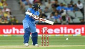 Melbourne T20: Dhawan out, 100 up for India