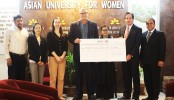 AUW student receives scholarship from HSBC