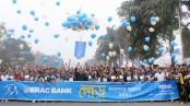 Marathon for humanity organized by BRAC Bank