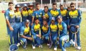 Sri Lankan U19 cricketers meet BD students