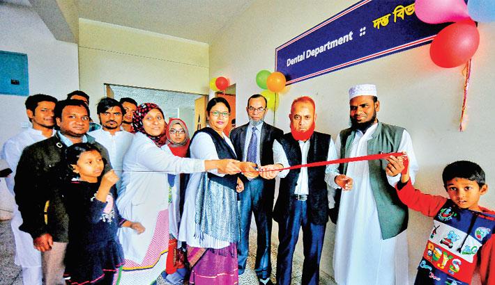 Dental unit opens at Bashundhara Ad-din Medical College Hospital