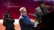 Elton John happy with new album