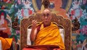 Dalai Lama greets people on Tibetan New Year