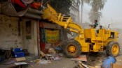 150 illegal establishments at Shahbagh evicted