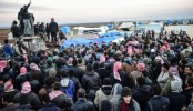 Syria war: Fresh clashes near Aleppo as refugee crisis grows