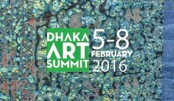 Huge visitors throng Dhaka Art Summit on opening day