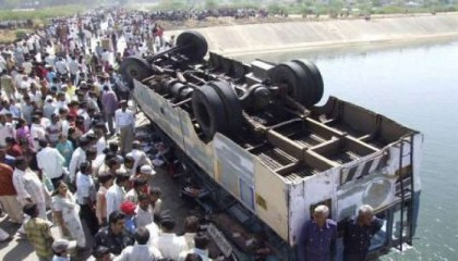 39 killed in Gujarat bus accident, 24 injured