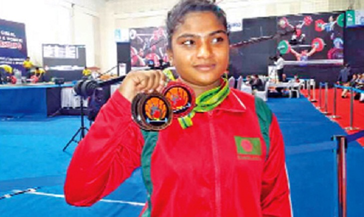 SA Games: Mabia wins first gold medal for BD