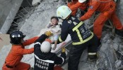 132 trapped in rubble in Taiwan earthquake