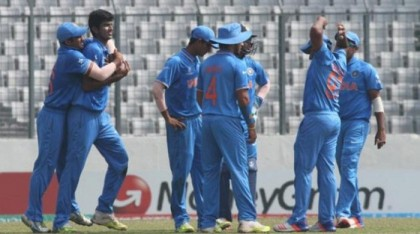 India registers semis beating Namibia by 197 runs