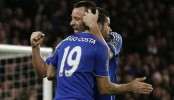 Chelsea ride Costa's equaliser to hold Manchester United