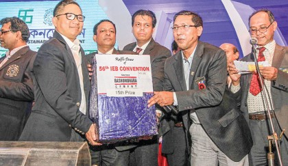 Grand raffle draw of IEB convention held