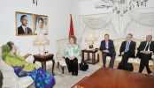 EP team discusses political, human rights situations with Khaleda