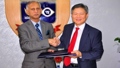 DU gets 30 computers from S Korea