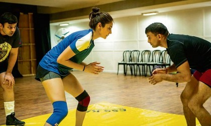 In pics: Anushka Sharma sweats it out for Salman's Sultan