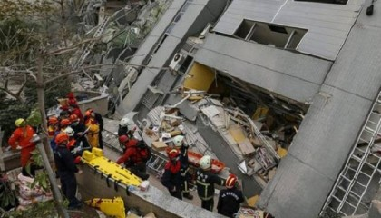 113 Bodies Pulled out From Taiwan Quake Rubble; 4 Missing