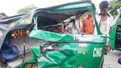 7 killed in truck-auto-rickshaw collision in Mymensingh