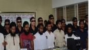 6 Huji men arrested in capital
