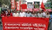CPB, SPB stage demo against train fares hike