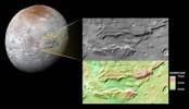 Frozen ocean spotted on Pluto's 'Hulk-like' moon Charon