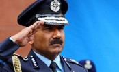 Indian Air Chief Arup Raha in Dhaka