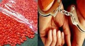 4 held including two drug peddlers with 1 lakh Yaba tablets