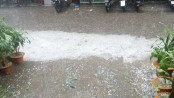 Massive hailstorm lashes capital