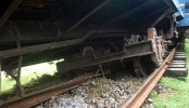Derailment halts rail link with Sylhet