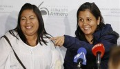 Colombia sisters reunited 30 years after avalanche