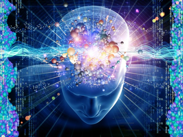 How powerful is the human brain compared to a computer?