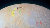 NASA releases first photo of Pluto's North Pole region